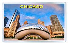 CHICAGO ILLINOIS MOD8 FRIDGE MAGNET SOUVENIR IMAN NEVERA