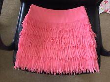 Ladies Ann Taylor Size 2 Polyester Shell Furly Flowy Elegant Skirt NWT