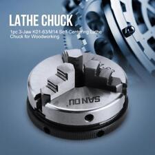 3Jaw Lathe Chuck Self-Centering Hardened Steel CNC Drilling Machine 63mm/2.5''