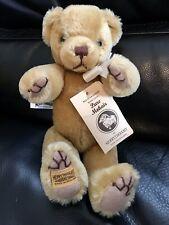 "10"" Merrythought Golden Hair Mohair Teddy Bear Made in England Excellent Cond"
