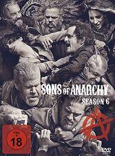 Sons of Anarchy - 6 Staffel-Season  - NEU OVP - 5 DVD Box - FSK 18