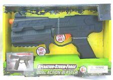 Toy Gun Military Dual Action Blaster Operation Storm Force Pistol Machine Sound