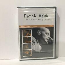 How To Kill & Be Killed: Derek Webb of Caedmon's Call DVD Sealed Christian Rock