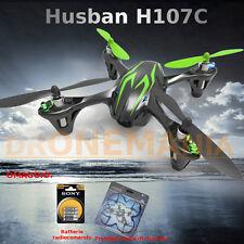 DRONE Quadricottero RC HUBSAN X4 H107C X4 TELECAMERA