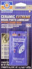 2 Pack Permatex 24124 Ceramic Extreme Brake Parts Lubricant Anti Squeal Lube 14g