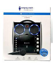 Karaokeanlage SML383 CD Kinder Karaoke Player mit Lightshow-Effekt als Geschenk