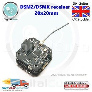 Dsmx DSM2 Récepteur 20x20mm Pile pour Eachine Minicube Spektrum Whoop Quad