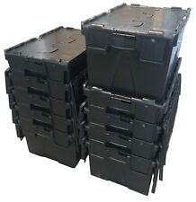 93 L Tough Contico cadenassable de rangement en plastique Tack Outil De Coffre Remorque Box