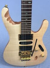 Ibanez EGEN8 Herman Li Signature Electric Guitar In Plantinum Blonde
