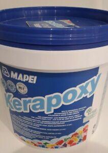 Mapei Kerapoxy Epoxy Grout White 5kg Tub
