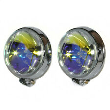 Fog Spot Lights Yellow Lamps 60mm E-Marked For Ford Focus Mondeo Escort Transit