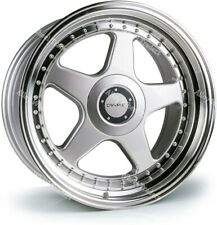 "Alloy Wheels 17"" DR-F5 For Toyota Aygo Corolla Mr2 Starlet Yaris 4x100 Silver"