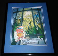 2002 Corn Nuts Framed 11x14 ORIGINAL Advertisement