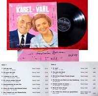 LP Heidi Kabel & Henry Vahl vom Ohnsorg Theater Hamburg (Signiert) D 1967
