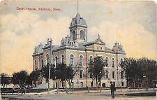 C66/ Fairbury Nebraska Ne Postcard c1910 Court House Building