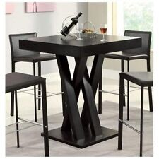 Square Bar Table Room Kitchen Pub Dining Furniture Bistro Dinette Counter Height