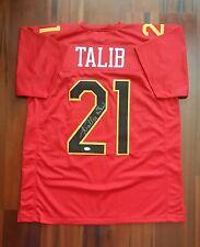 Aqib Talib Autographed Signed Jersey Denver Broncos W/Pro Bowl Inscript JSA
