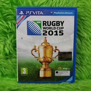 ps vita RUGBY WORLD CUP 2015 PAL UK Version REGION FREE