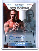 TNA Gunner 2012 Reflexxions SILVER Authentic Autograph Card SN 60 of 99