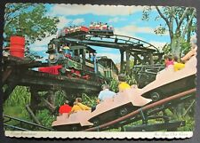 Six Flags Over Texas Runaway Mine Train Houston Texas Vintage View Postcard