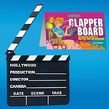 !NEW! Hollywood Director Clapper Board Party Decoration Film Movies Novelty Loot