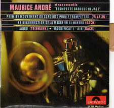 "MAURICE ANDRE ""TROMPETTE BAROQUE IN JAZZ"" FRENCH ORIG EP"