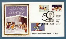 Colorano 5023-4 Charlie Brown Christmas 2 of 5 different 50 Year Ann Combo Cover