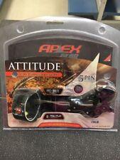 Apex Gear Attitude 5 Pin .019 Bow Sight