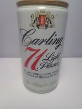 CARLING 71 LIGHT FORGED STEEL PULL TAB BEER CAN #54-6  BALTIMORE, MARYLAND