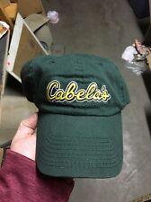 d13f625f855 trucker hat baseball cap CABELA S cool cloth vintage slide adjuster rare  1980