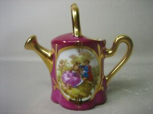 Limoges France miniature watering can