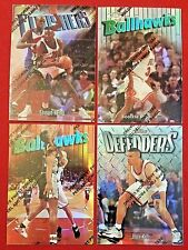 1997-98 Topps Finest Refractor ROBINSON SILVER IVERSON  PIPPEN GOLD MUTOMBO PSA