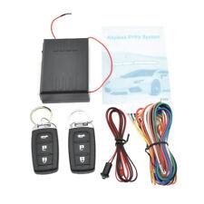 Universal Car Alarm Security System Door Lock Central Keyless Entry 2 Remote