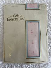 Leon Worth Fashionables Pink Confetti Small Tights Stocking Brand New In Packet