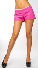 Shorts, bermuda e salopette da donna rosa in poliestere