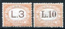 San MARINO affrancatura 1925 25, 27 ** Post freschi perfette € 330 (z3019