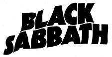 Decal Vinyl Truck Car Sticker - Music Rock Bands Black Sabbath