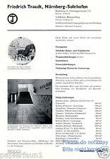 Solnhofer Wandplatten Reklame von 1935 Solnhofen Nürnberg Hummelberg Steinbruch