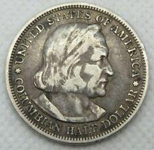 1893 Columbian Exposition Commemorative Coin 90% Silver 50C Half Dollar