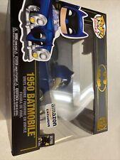 Funko Pop! Rides Batman 80th Blue Metallic 1950 Batmobile Amazon Exclusive