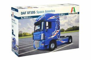 Italeri 3933 1/24 Scale Truck Model Kit DAF XF105 Space America XF 105