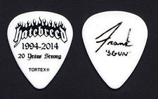 Hatebreed Frank Novinec Signature White Guitar Pick - 2014 Tour
