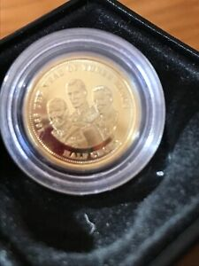 RARE THE YEARS OF THREE KINGS 2019  PROOF 1/4 SOVEREIGN COIN