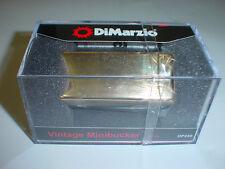 Dimarzio Dp240 Vintage Minibucker Neck Guitar Pickup - Gold