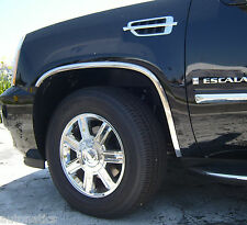 CADILLAC ESCALADE ESV 2007 - 2014 TFP Polished Stainless Fender Trim Molding