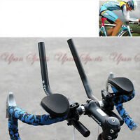 Road Mountain Bike Bicycle Alloy Triathlon Aero Rest Handle Bar Handlebar 31.8mm