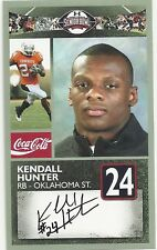 KENDALL HUNTER OKLAHOMA STATE SENIOR BOWL CARD