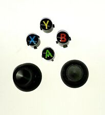 New OEM Genuine Original Black ABXY Buttons + Thumbsticks Xbox One Controller