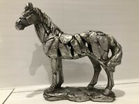 Large Horse Pony Ornament Sculpture Figurine Leonardo Natural World gift Box