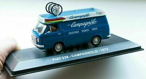 RARE 1/43 1972 OLYMPICS FIAT 238 CAMPAGNOLO ITALY SERVICE DIECAST SUPPORT VAN